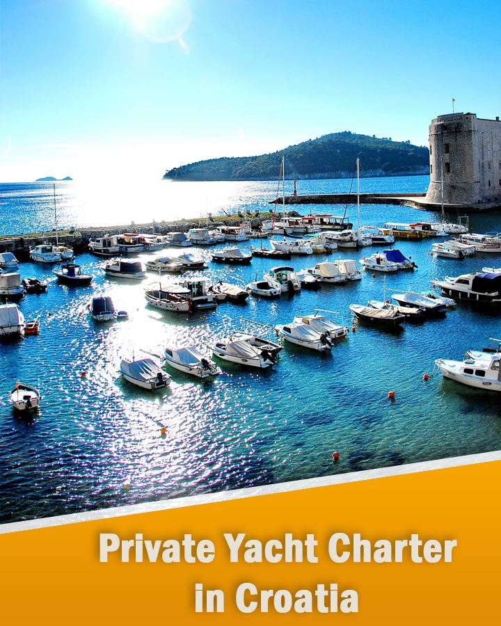 Private Yacht Charter in Croatia