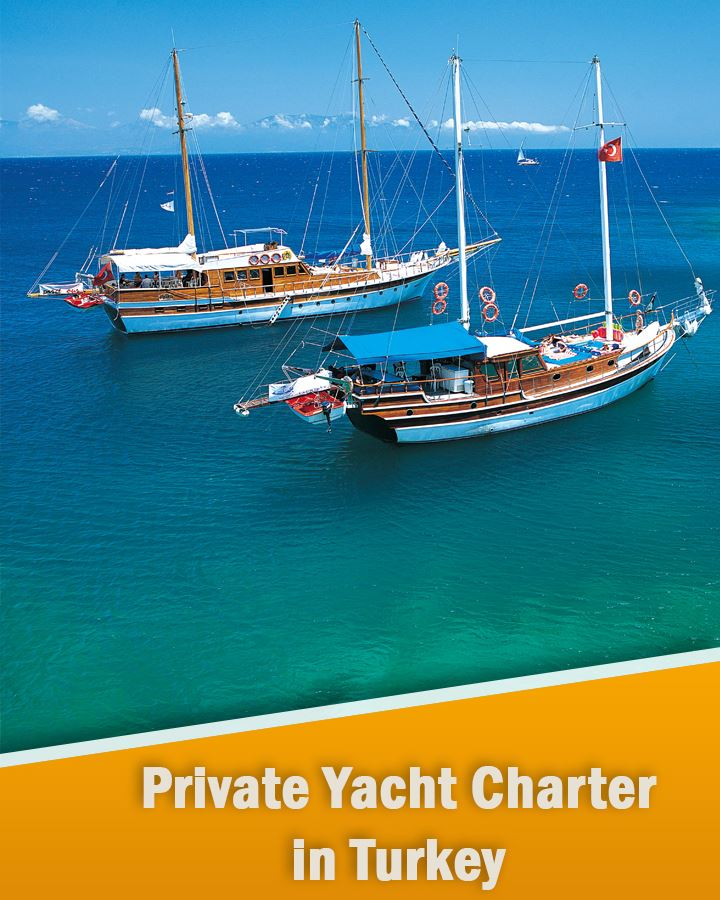Private Yacht Charter in Turkey