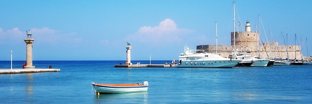 Weekly Yacht Charter in Rhodes