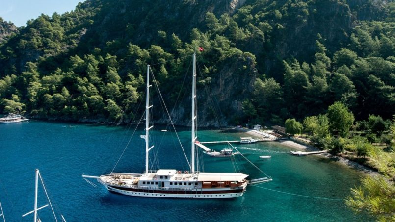 Gulet Cruises Kas to Antalya