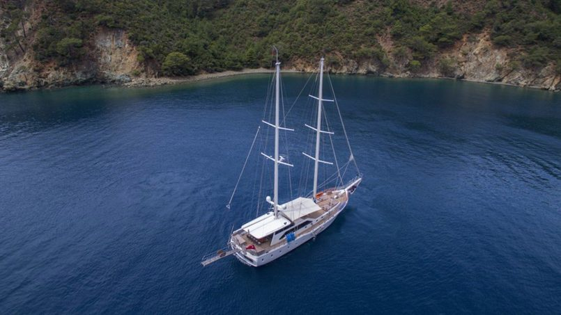 Bodrum to Marmaris Gulet Cruise